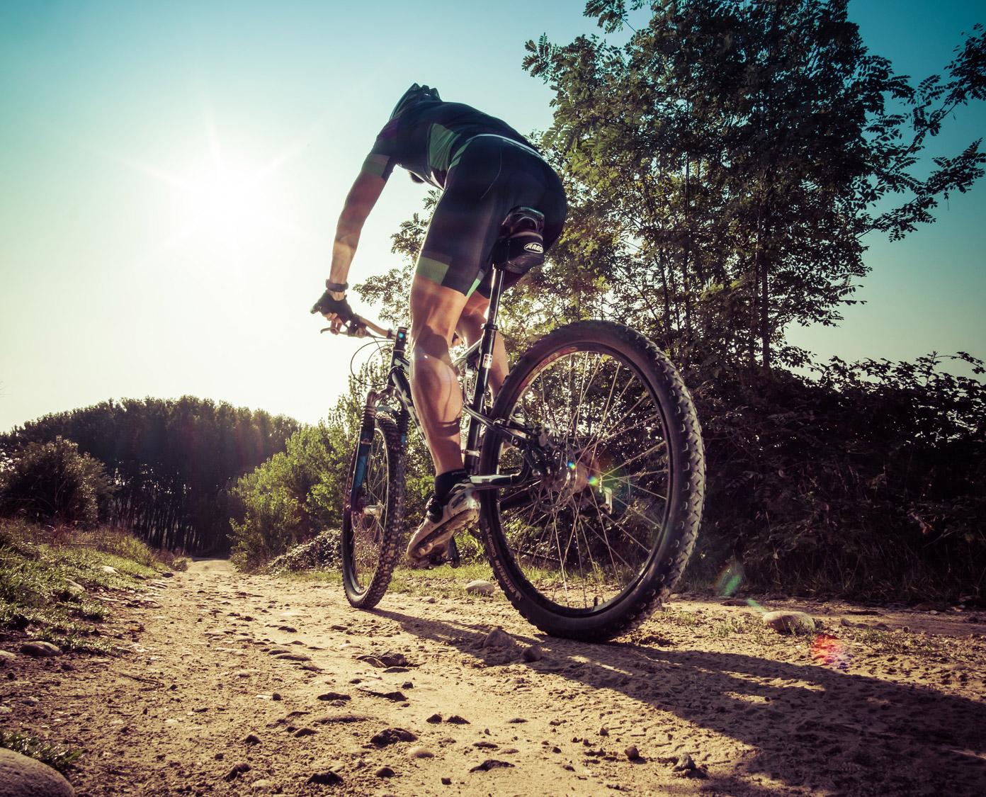 Mountain Bike Fahrer